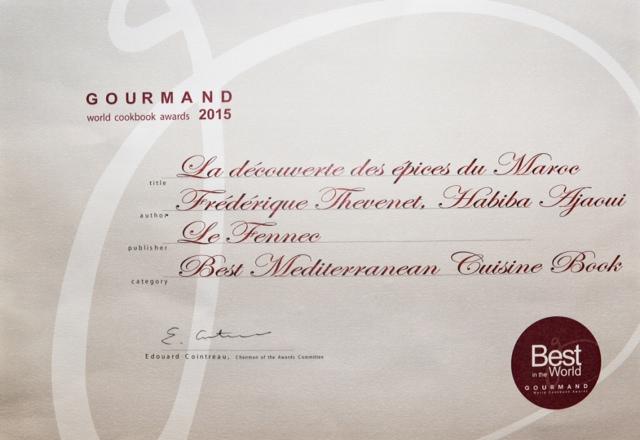 Diplome gourmand 2016 salon international du livre de femmes - Salon du livre gourmand ...